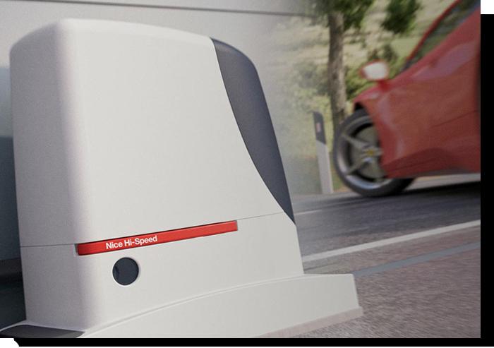 Assistência Técnica portas industriais e portões da marca Nice