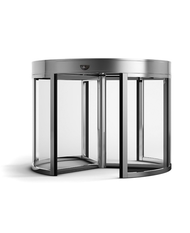 Portas Automáticas de Vidro Giratórias