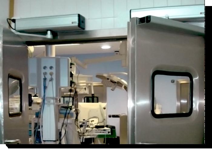 Portas Hospitalares Automáticas de Batente