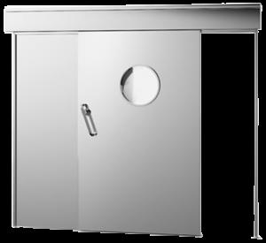 Reparação de portas rápidas, corta-fogo, automáticas de vidro e hospitalares