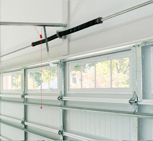 Molas de torção para Portões de Garagem Seccionados e basculantes