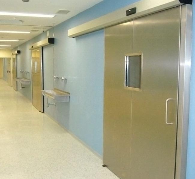 Portas Automáticas de Radiologia
