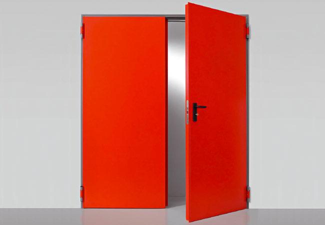Portas Corta-fogo Resistentes (Modelo Univer)