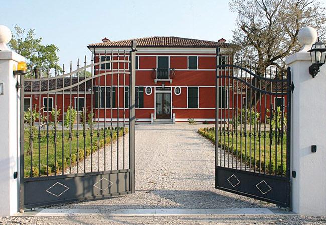 Portões de batente industriais, para condomínios e vivendas
