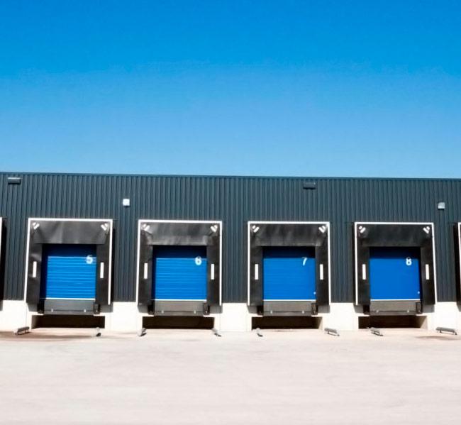 Portões industriais automáticos