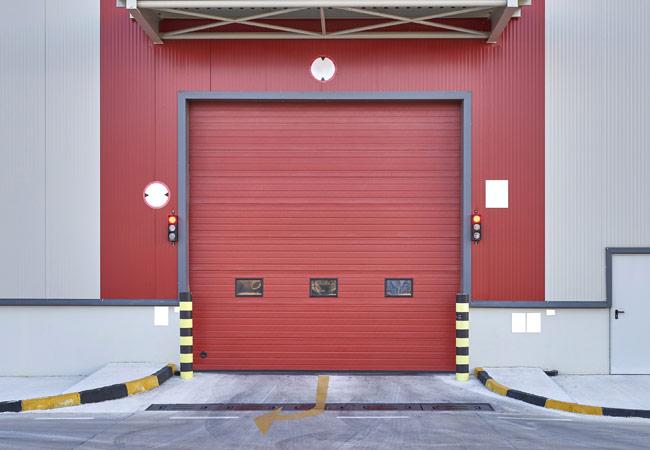 Portas de garagem industriais